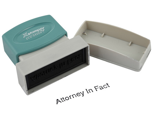 Attorney In Fact Stamp