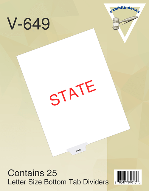 State Tabs
