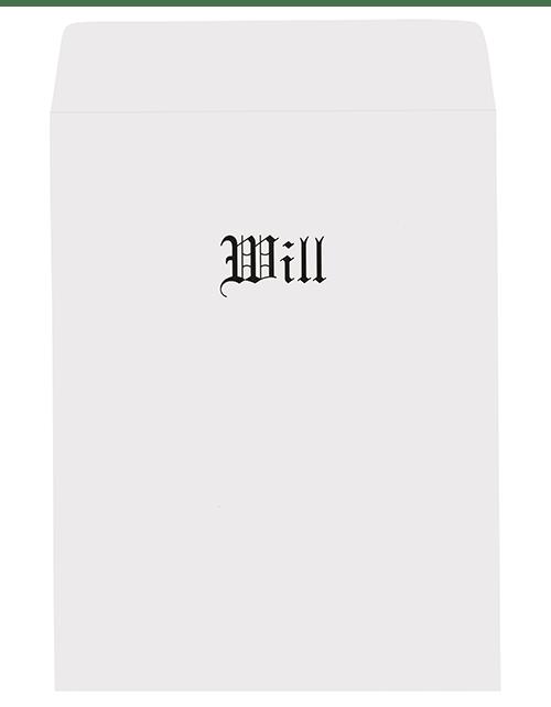 Large Will Envelope