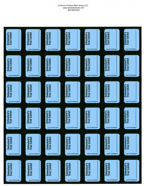 Defendant's Trial Exhibit Labels Blue #105 ...