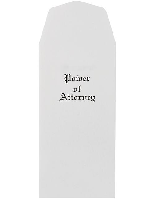 Power of Attorney Envelopes