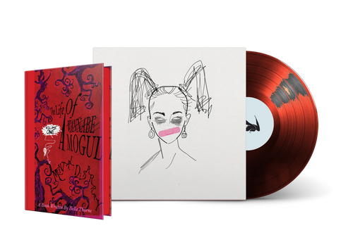 Bella Thorne's The Life of a Wannabe Mogul Limited Edition Vinyl Audiobook + Hardcover [Signed]