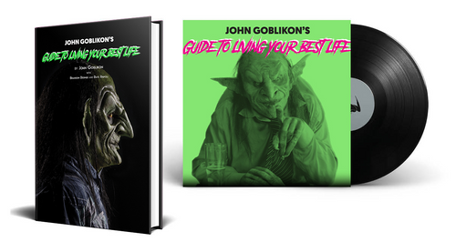 John Goblikon's Guide to Living Your Best Life [Signed Limited Edition Vinyl Audiobook Bundle] by John Goblikon