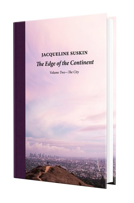 The Edge of the Continent: The City [Signed] by Jacqueline Suskin