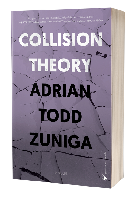 Collision Theory [Signed] by Adrian Todd Zuniga