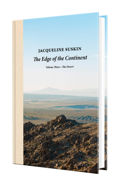 The Edge of the Continent: The Desert [Signed] by Jacqueline Suskin