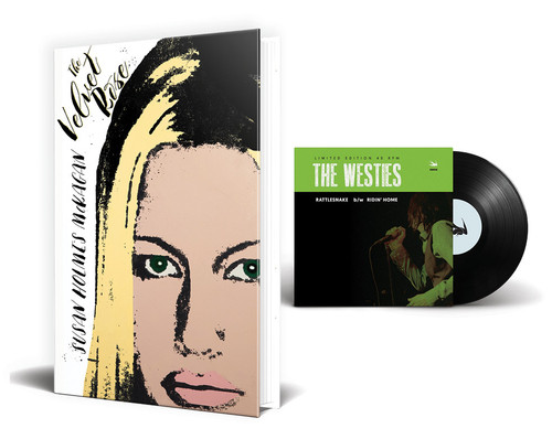 "The Velvet Rose [Signed] by Susan Holmes McKagan + Vinyl 7"" of The Westies (music by Duff McKagan) [signed by Duff]"