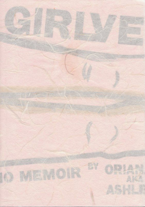 Girlvert: A Porno Memoir [signed art edition] by Oriana Small (aka Ashley Blue)