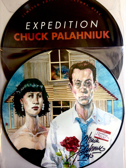 Expedition [signed picturedisc] by Chuck Palahniuk