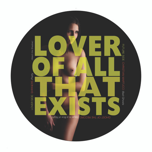 "Lover of All That Exists 7"" by The Shriners, Christian Martucci, and Lantz L'Amour"