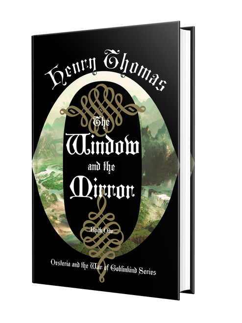 The Window and the Mirror [Signed] by Henry Thomas