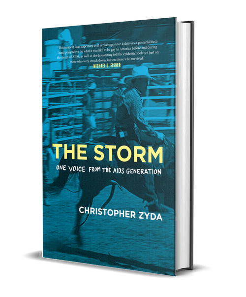 The Storm: One Voice from the AIDS Generation [signed] by Christopher Zyda