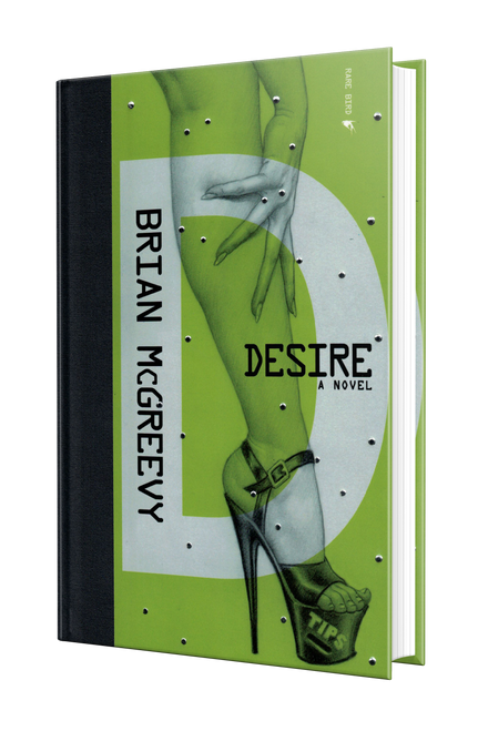 Desire (Signed, Hand-Numbered, Limited Edition Hardcover—Only available on this site)