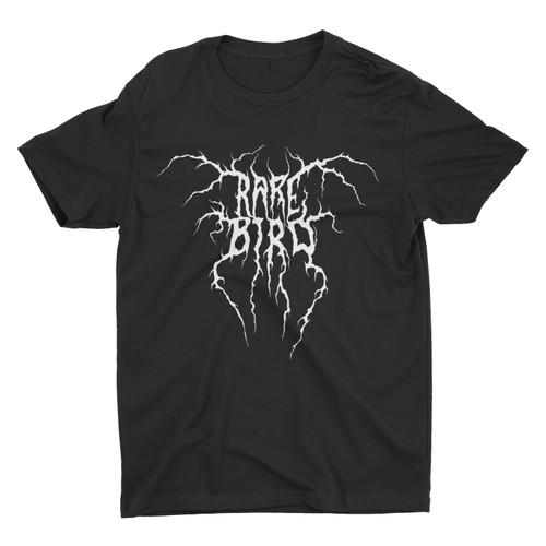 Rare Bird Black Metal Logo T-Shirt