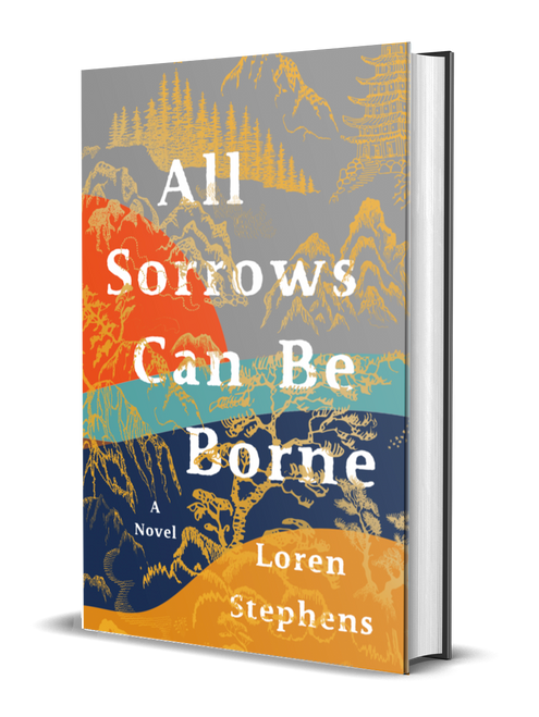 All Sorrows Can Be Borne [signed] by Loren Stephens