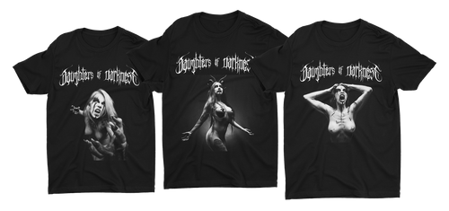 Daughters of Darkness—3 Shirts Bundle