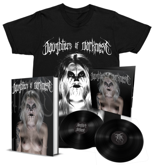 Daughters of Darkness—Standard Edition Bundle + 2xLP + Shirt [Signed] by Jeremy Saffer