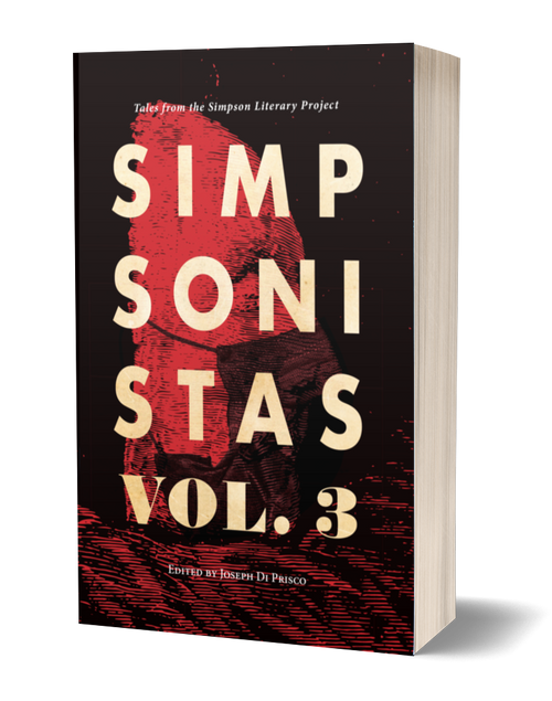 Simpsonistas Vol. 3 edited by Joseph Di Prisco