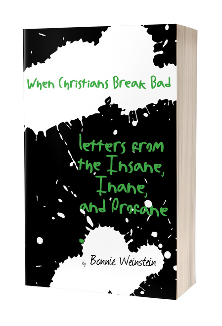 When Christians Break Bad: Letters from the Insane, Inane, and Profane by Bonnie Weinstein