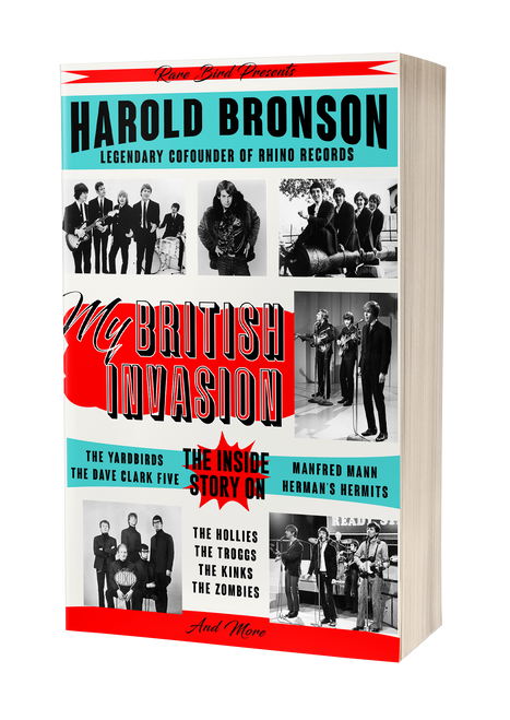 My British Invasion by Harold Bronson