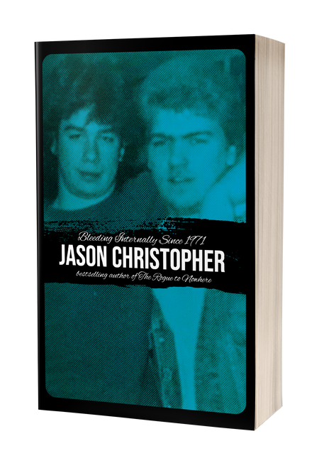 Bleeding Internally Since 1971 [signed] by Jason Christopher