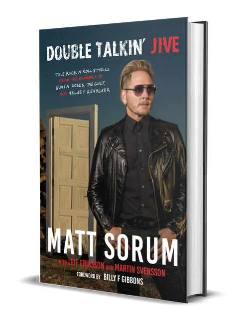 Double Talkin' Jive Hardcover [signed] by Matt Sorum