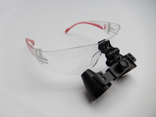 Rose Micro Solutions 4.0x Loupe. The frame pictured is for display purposes only. The loupe will ship with the frame of your choice (select from the list on the right)