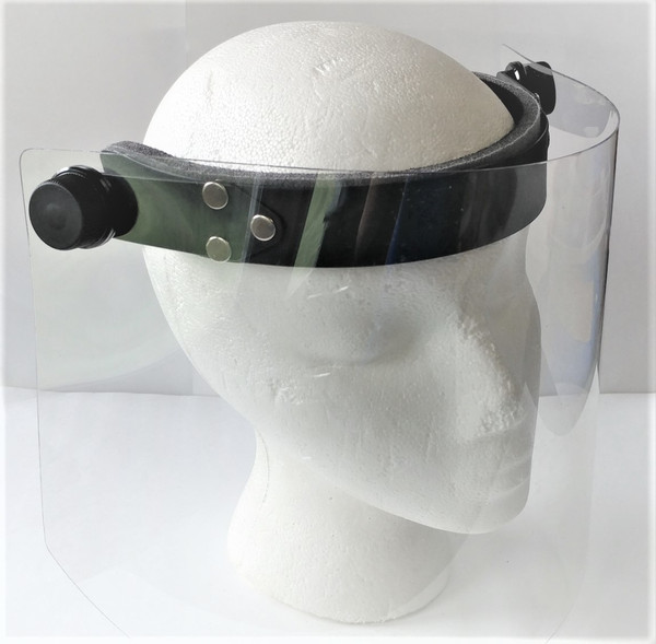 Face Shield with Comfort Surgical Headband