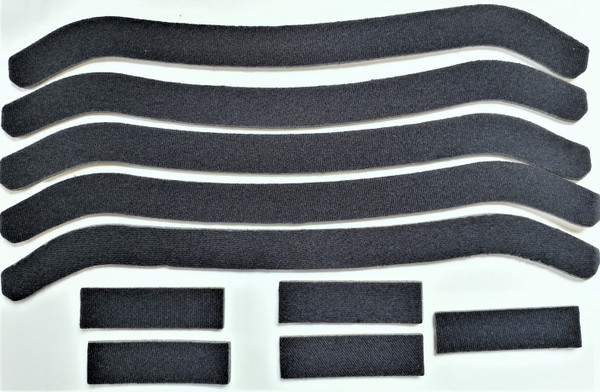 Replacement padding set of 10