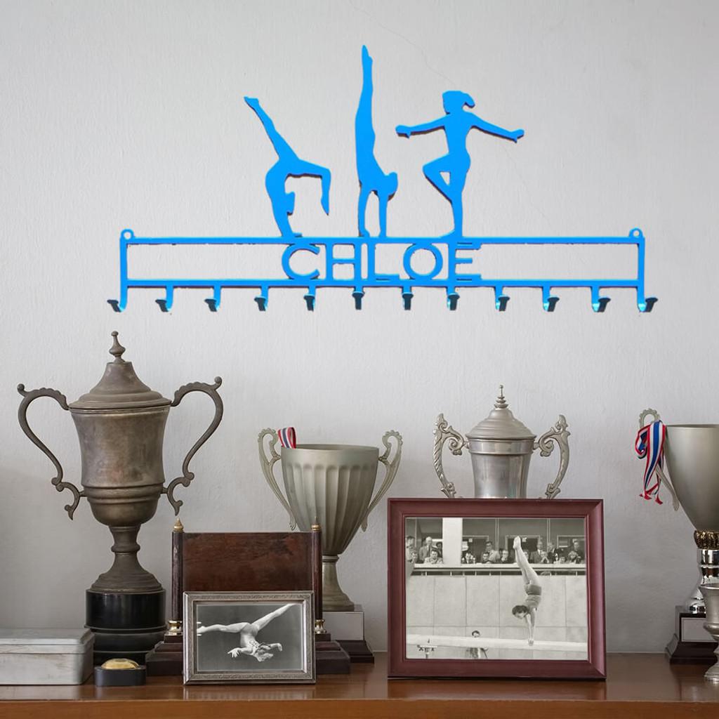 Gymnastic Medal Display Rack – Girl (U1)