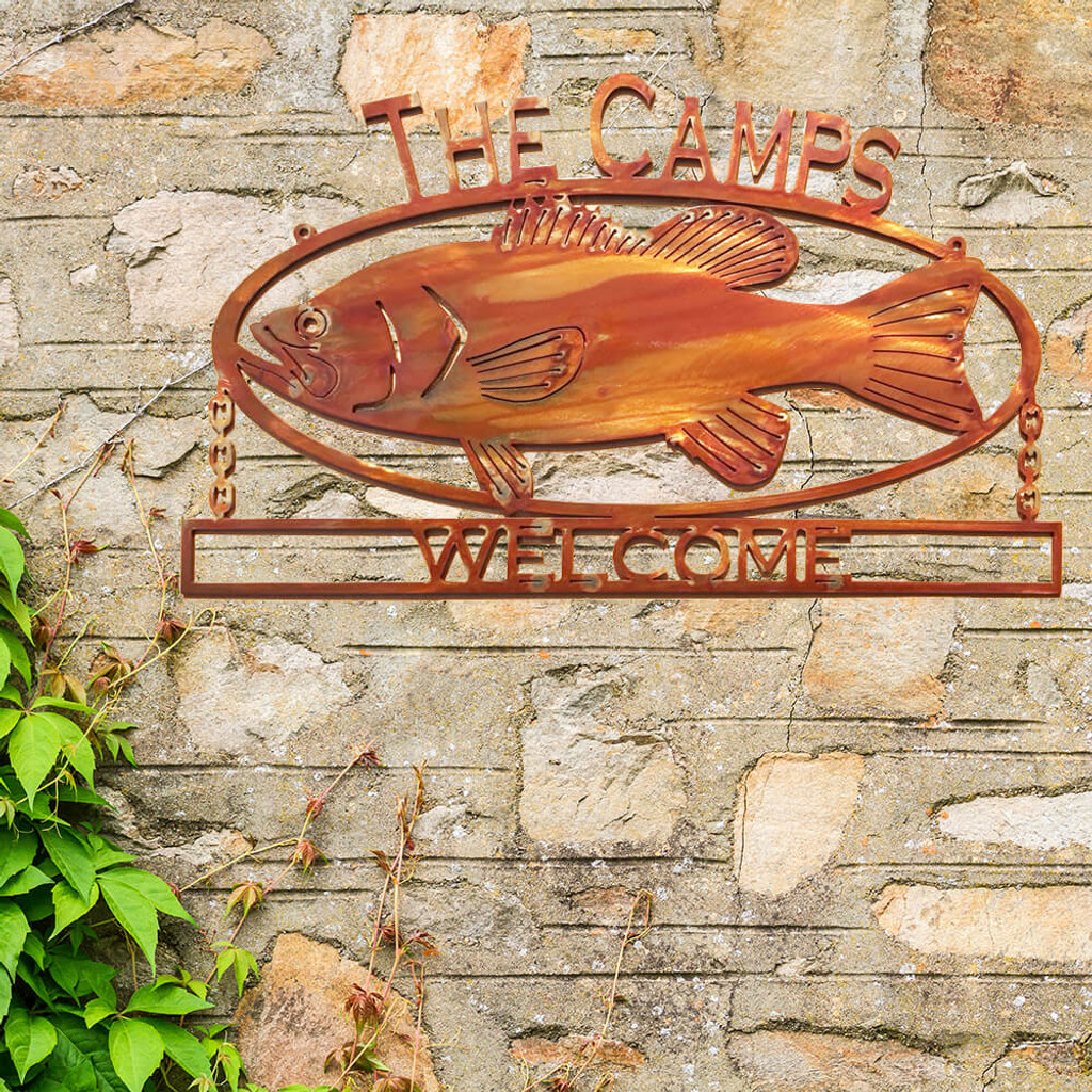 Big Fish Welcome Sign (Q9)