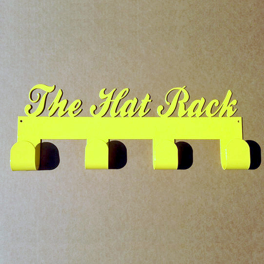 The Hat Rack with 4 Hooks (J11)