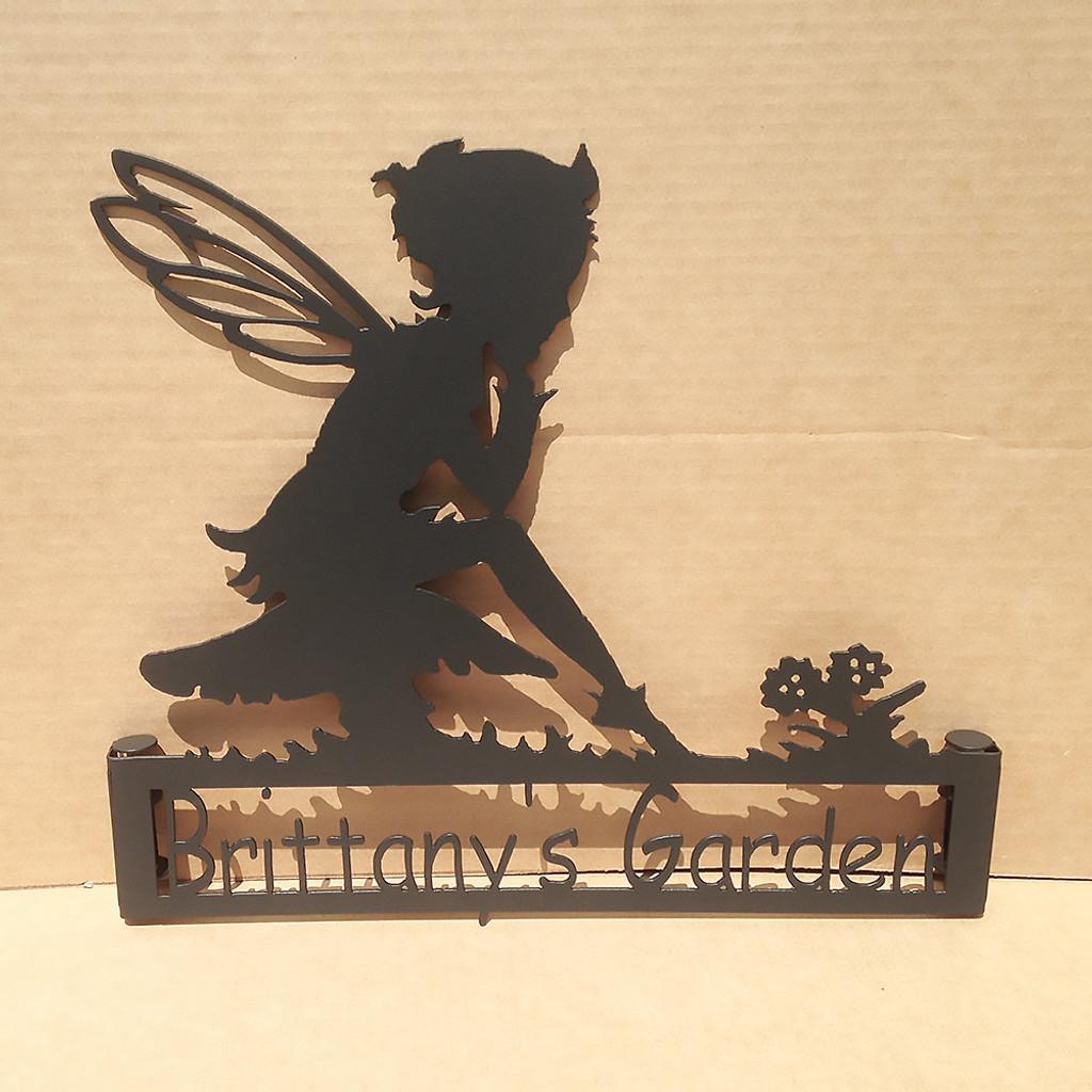 Custom Fairy Garden Stake (W5)