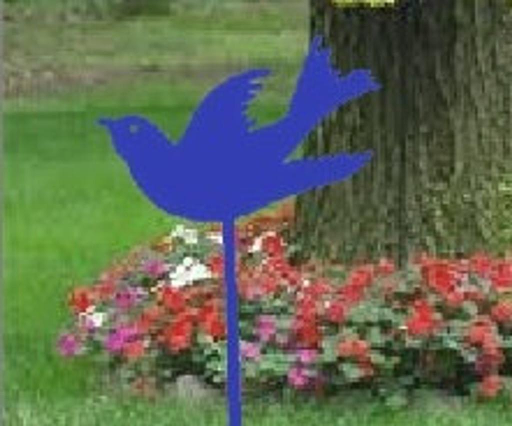 Swallow Metal Garden Stake (G0)