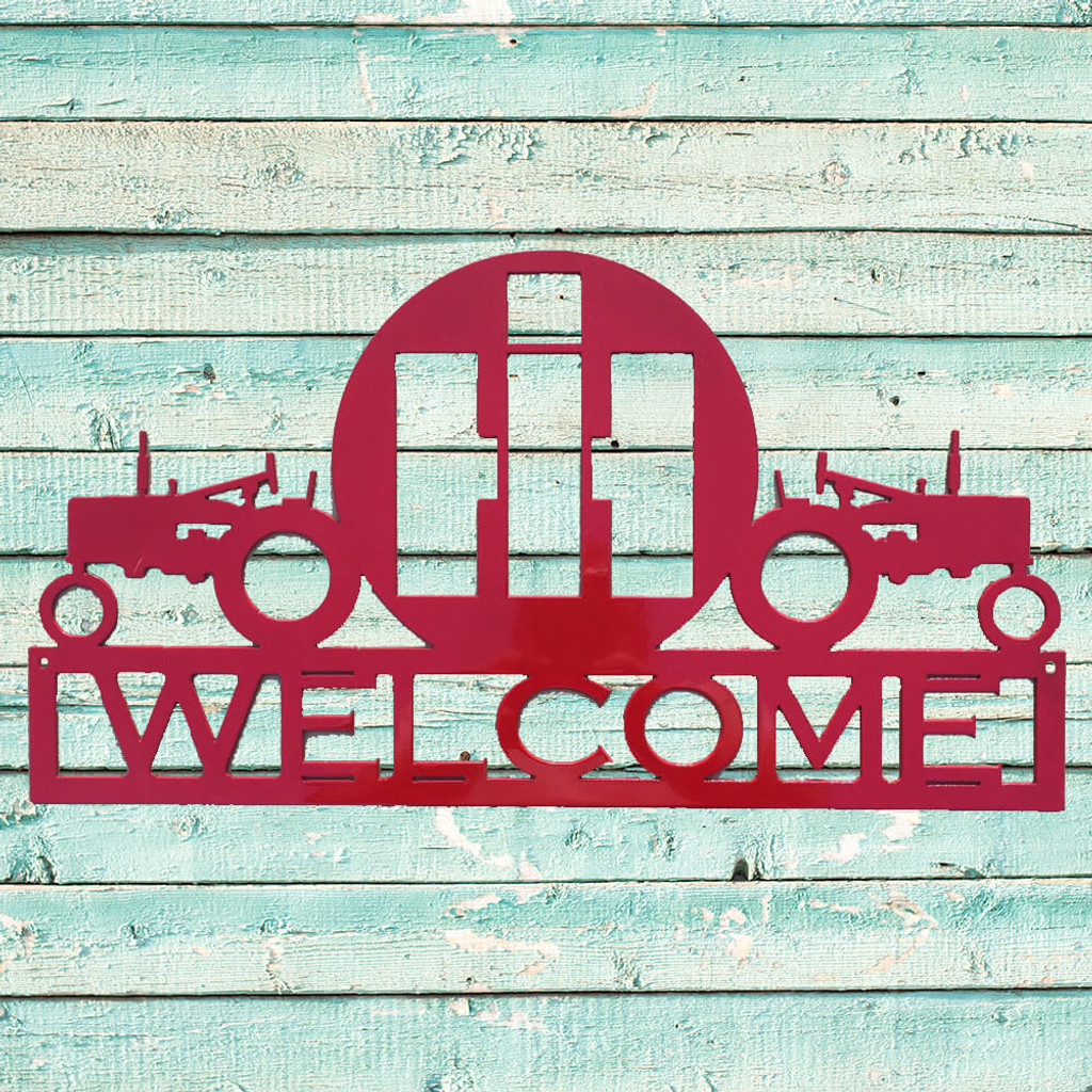 Personalized Dual Tractor – International Harvester Sign (P12)
