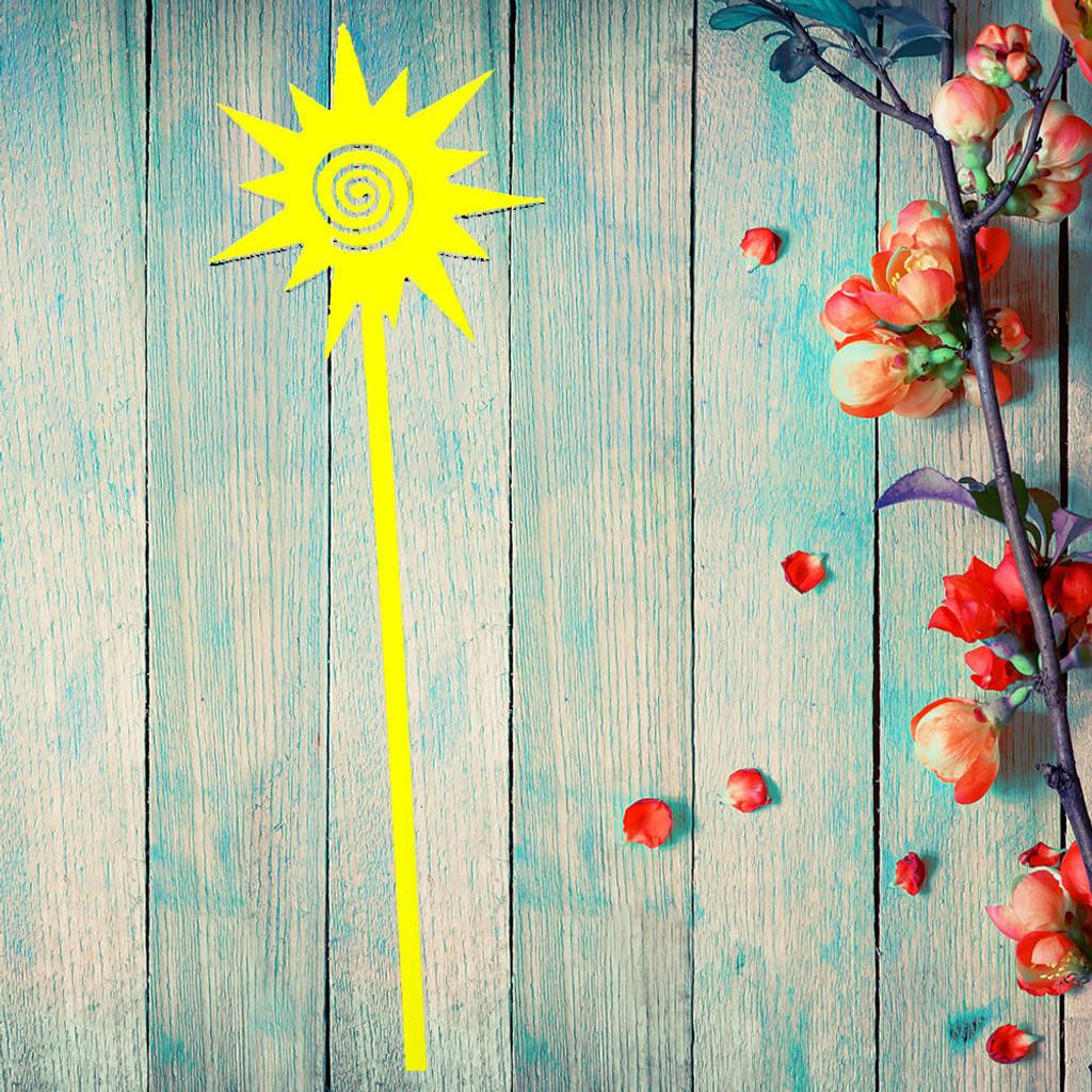 Sun Swirl Garden Stake (B8)