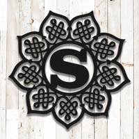 Celtic Mandala Monogram