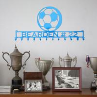 Kick'n Soccer Medal Display Rack (S5)