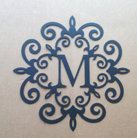 "Single Letter Monogram Your choice of Letter 18"" (V12)"