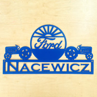 Personalized Dual Tractor – Ford Sign (U12)
