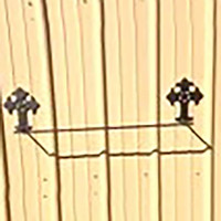 Cross Towel Holder (A27)