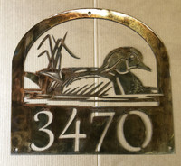 Wood Duck with Personalized Text (B38)