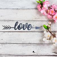 Love Arrow Wall Art (B54)