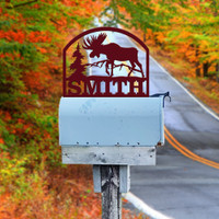 Moose Mailbox Topper (D30)