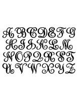 Elegant Monogram in a Circle with Established Date  (D41)