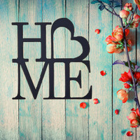 Heart Love Home Sign (D48)