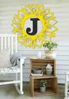 Sunflower Monogram (Z35)