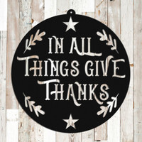 In All Things Give Thanks (G41)