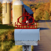 Cardinal Mailbox Topper (H32)