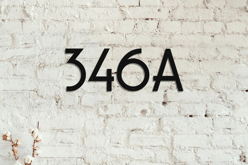 Oberon Signs | House Number Shipping